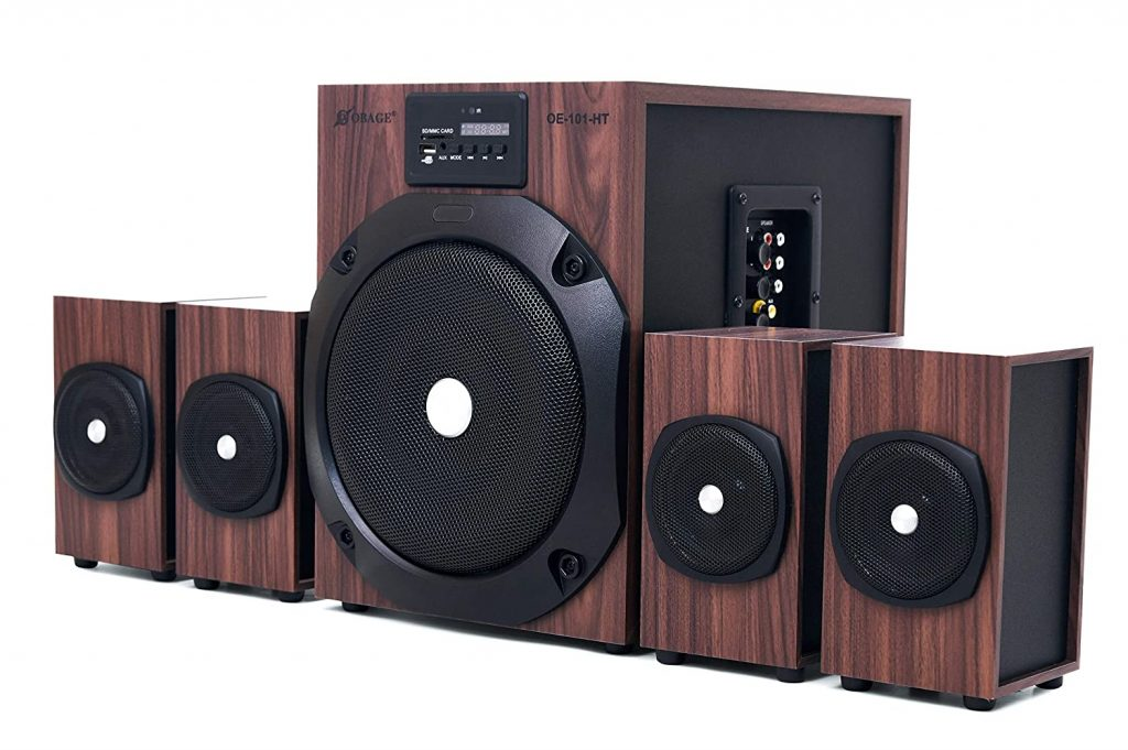 Obage HT-101Woody 65W 4.1 Home Theatre System