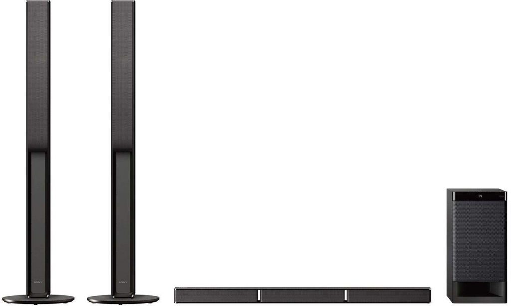 Sony HT-RT40 Real 5.1ch Dolby Audio Soundbar Home Theatre System with Tall boy Speakers
