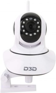 D3D Wireless HD IP WiFi CCTV Indoor Security Camera Model D8810