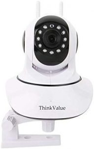 ThinkValue T8855 Wireless HD IP WiFi CCTV Indoor Security Camera