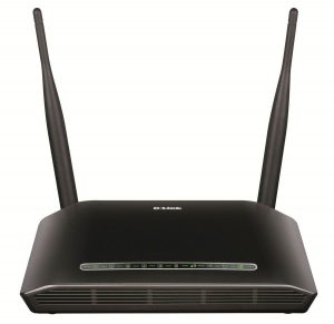 D-Link DSL-2750U Wireless N 300 ADSL2 + Router