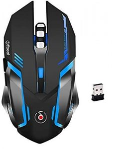Offbeat RIPJAW 2.4Ghz Rechargeable Wireless Gaming Mouse