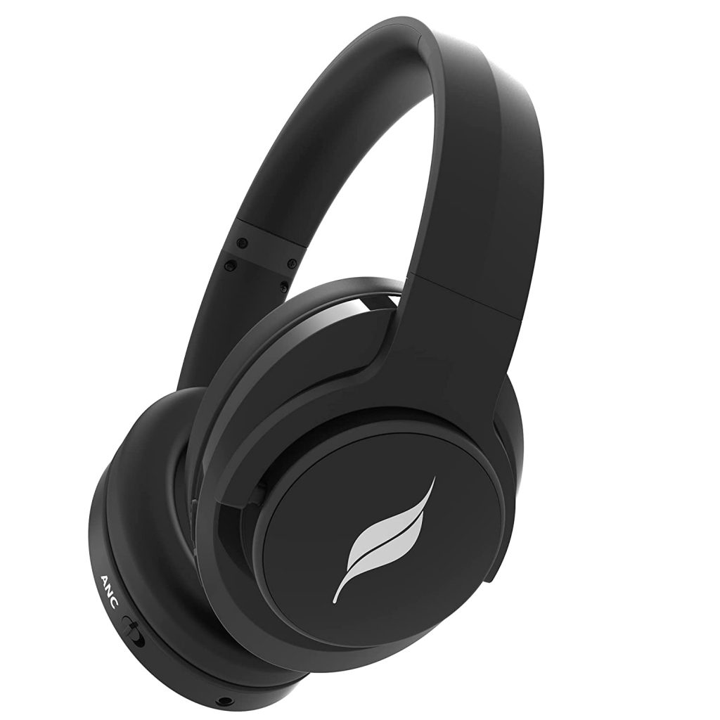 Leaf Hush ANC Bluetooth Wireless Headphones with Active Noise Cancelling