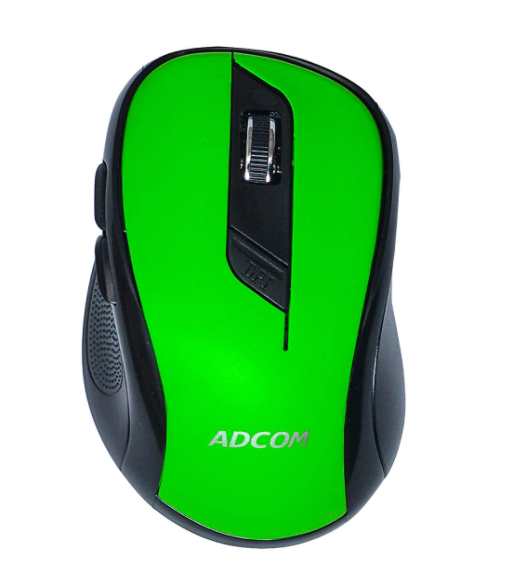 Adcom 6D Slim Wireless Optical Super Mouse with 6 Buttons