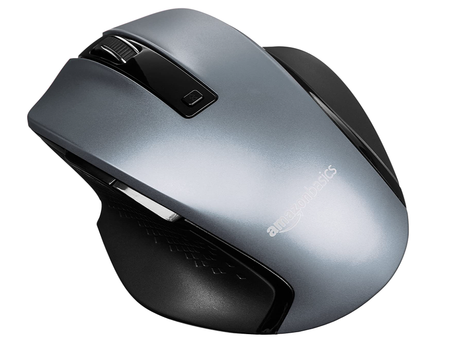 AmazonBasics Compact Ergonomic Wireless Mouse